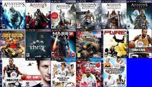 3 Games de playstation 3 por 100 entrega no mesmo dia todo
