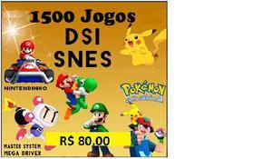 Cartucho  Jogos De Nintendo Ds, Snes P/ 2ds,3ds New 3ds