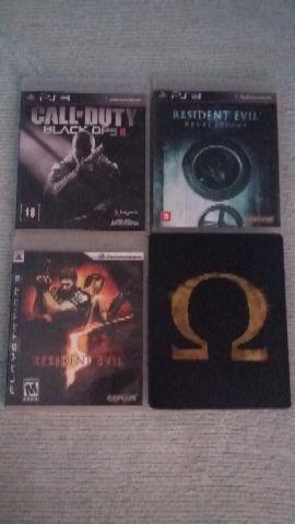 Jogos de PlayStation 3 originais troco