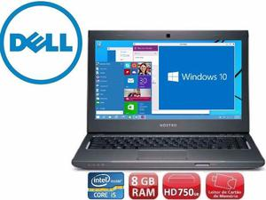 Notebook Dell| Core i5| 8 Gb ddr3| Tela 15,6"
