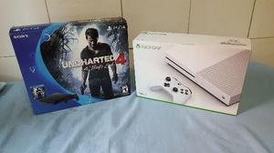 PS4 SLIN Zero e Xbox ONE S Novos Lindos Playstation 4 play