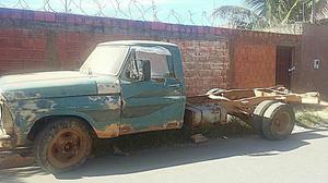 Ford F ano  motor MWM 266 BOMBA C A V lindo