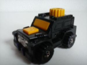 Jeep Transformers estrela anos 80