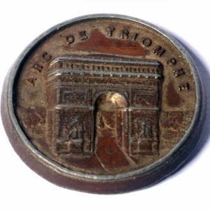 Medalha alusiva a Cidade de Paris - souvenir dos anos 50