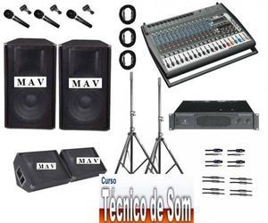 Novo Curso de Operador de Áudio Basico 01 - Aceito em