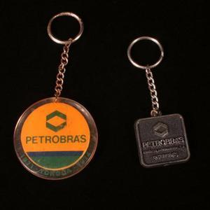 Par De Chaveiros Publicitários Da Petrobrás