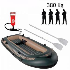 Bote Barco Inflavel Barco 3,40m Fishman 400 + Inflador +