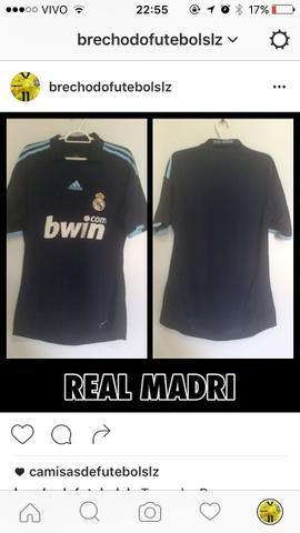 Camisa do real madri tamanho p bf4f97bdd0d19