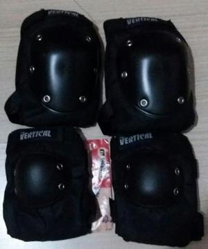 Kit Proteção Infantil Vertical sem Wrist Guard - Skate