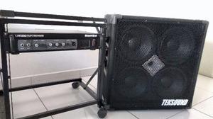 Cabeçote Hartke Lh500 + Caixa Teksound Tk410cd