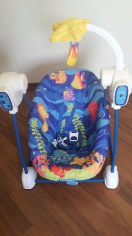 Cadeira de Balanço Automática (Fisher Price)