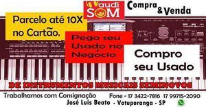 Compra, venda, troca e consignação de instrumentos