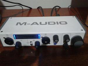 M-audio m-track interface de áudio