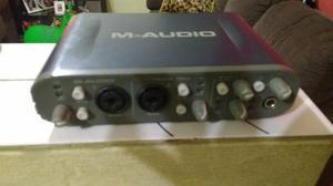 Vendo placa de áudio da m-audio