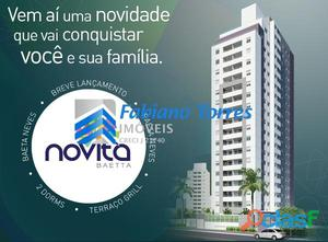 Novita Baeta Neves- Apartamento de 51m² com terraço grill.