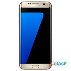 Smartphone Samsung Galaxy S7 Edge G935F Dourado 32GB, Tela