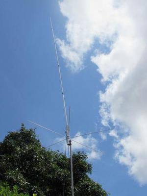 Antena p/ radio amador