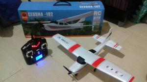 Avião de controle - Cessna 182 - Novo na caixa