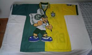 Camisa palmeiras comemorativa seleção brasileira