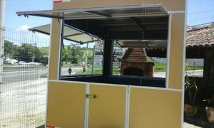 Food truck(Trailler acm)cor: dourado