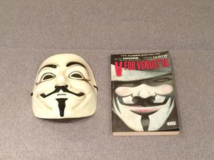 HQ V de Vingança + Máscara oficial