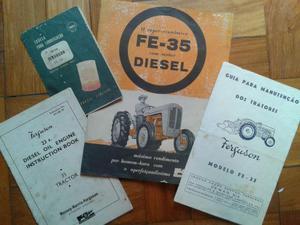 Manual Trator Ferguson 35