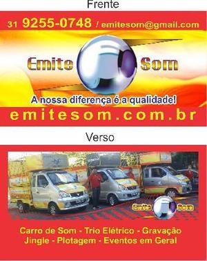 Trio eletrico grande BH Contagem CARRO DE SOM