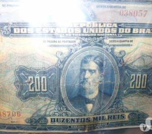 Compro Notas de Réis Do Império Do Brasil Pg. Até R$300