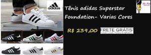 Tênis adidas Superstar Foundation- Varias Cores