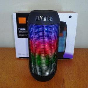 Caixa De Som Pulse Portátil Bluetooth Led Rádio FM Pen