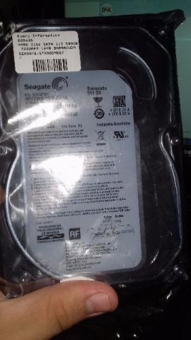 Hd Desktop Seagate Pipeline 500gb Sata 3.5´ 8mb Cache