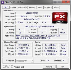 Kit amd fx e + 8 gb memoria + Placa mae