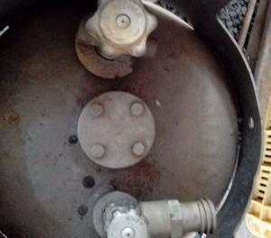 Botijão de Gás P20 Vazio