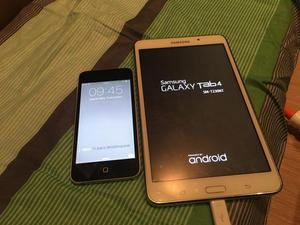 Ipod touch 5 + Galaxy Tab 4 T230 TV