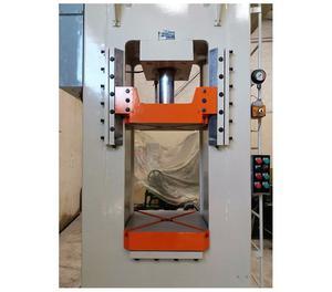 Prensa Hidraulica 100 Ton Fred Frey Tipo H Com Extrator