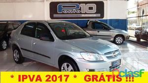 Chevrolet GM Prisma Maxx 1.4 2007 / 2007 Prata Flex 4P