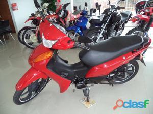 Honda Biz 100 es 2014 / 2014 Vermelho Gasolina