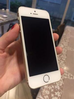 Iphone 5s Dourado em Perfeito Estado de Conservação