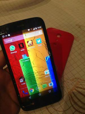 Motorola moto g1 16gb dual chip trincado funcionando