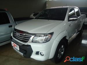 Toyota Hilux CD SRV 2.7 2015 / 2015 Branco Flex 4P