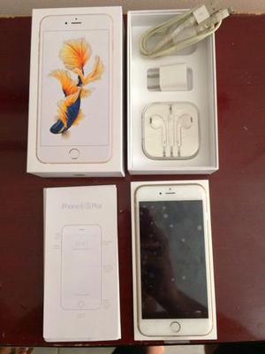 Vendo ou Troco iPhone 6S PLUS Gold 128GB Na Garantia