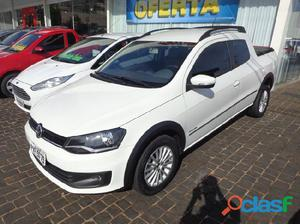 VolksWagen Saveiro Highline 1.6 2014 / 2015 Branco Flex 2P