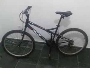 Bicicleta Caloi Snake Aro 26 Preto Fosco