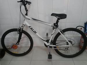 Bike Caloi branca 21 shimano