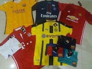 Camisas times nacional e internacional