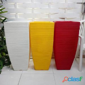 Vaso de Planta em Polietileno Decorativo Plastico Arranjo