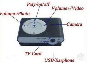 Câmera Espiã Filmadora 8GB