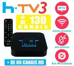 HTV 3 Receptor Tv Sem Antena Pronta Entrega