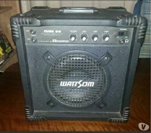 Amplificador para Guitarra WattSom Cube 60 + cabos