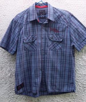 Camisa Xadrex azul